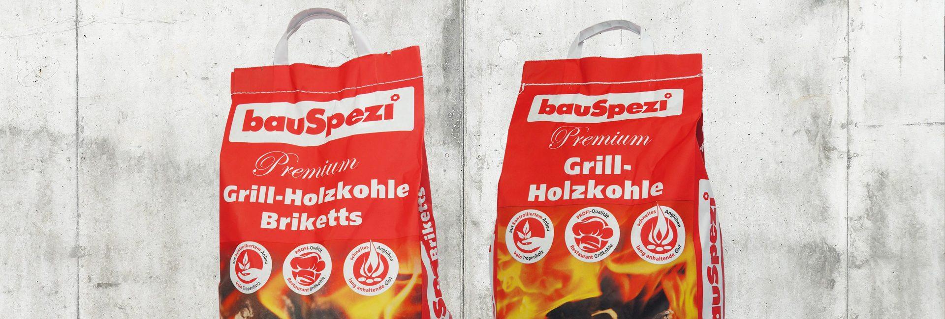 bauSpezi Eigenmarken Holzkohle