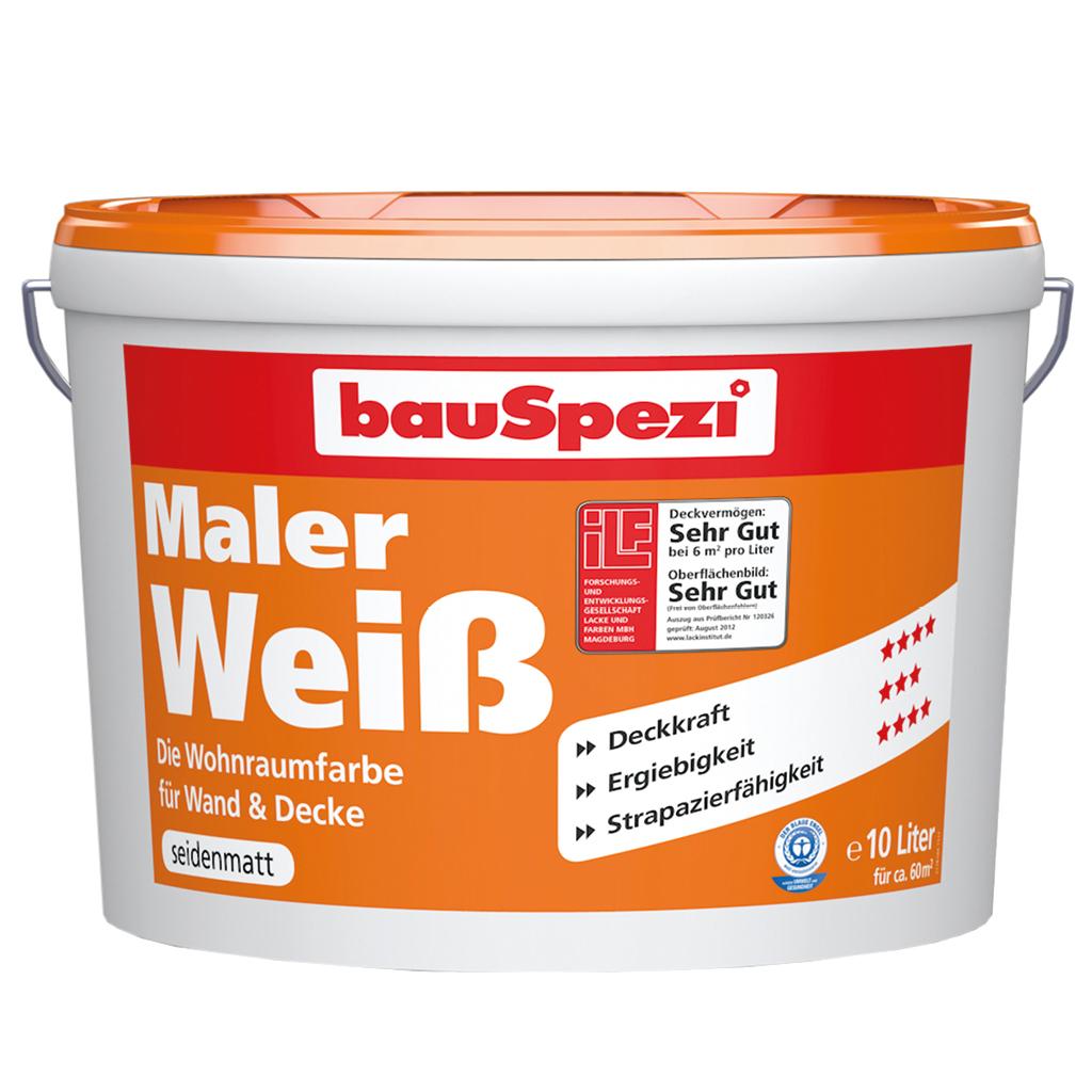 bauSpezi Maleweiß Farbe Angebot